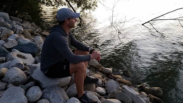 <p>Brett is training for an 898 km run from Tobermory to Niagara.</p>