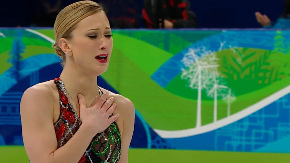 Just two days after her mother died of a heart attack, Joannie Rochette skates to a bronze medal at the Vancouver 2010 Olympic Games.