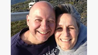 Patti Mersereau Leblanc with her husband