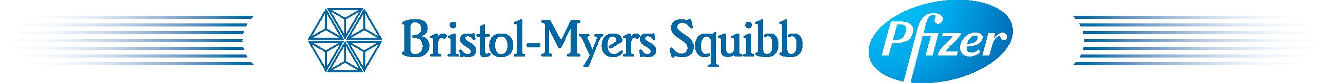 Bristol-Myers Squibb Pfizer logo