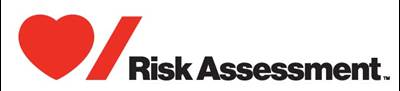 Heart and Stroke logo with Risk Assessment