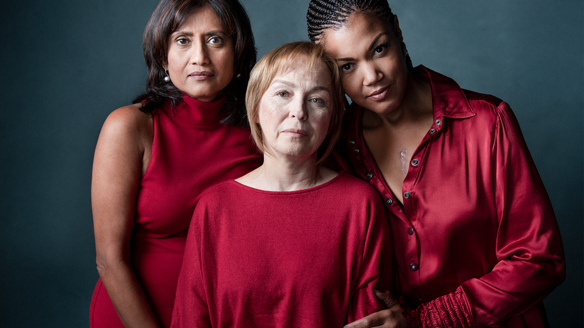 Three women with lived experience