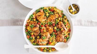 Spanish Chicken Rice Supper