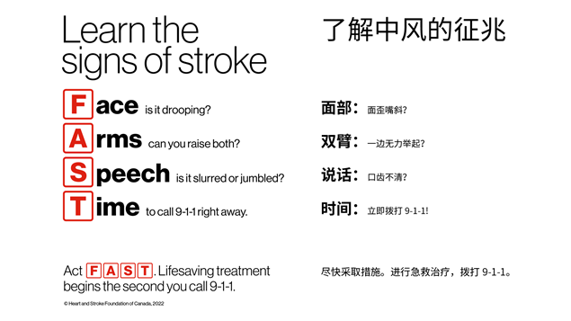 FAST chinese signs