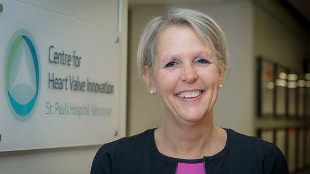 <p>Dr. Sandra Lauck holds the Heart &amp; Stroke Foundation Professorship in Cardiovascular Nursing at UBC.</p>