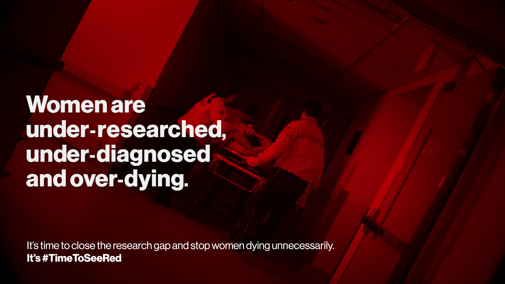 Woman are under-researched, under-diagnosed and over-dying.