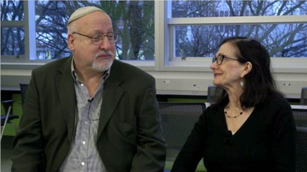 <p>PULSE participants Robert Morrissette and Sandra Waserman.</p>