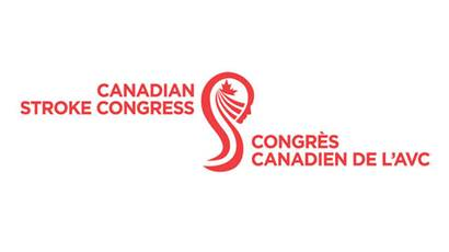 Canadian Stroke Congress logo on a white background