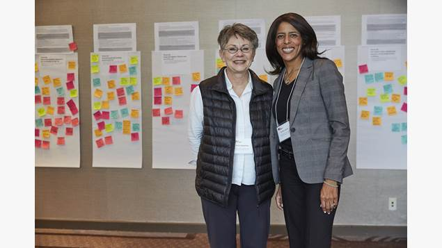 Dr. Karin Humphries and Caroline Lavallee