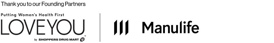 Shoppers drug mart and Manulife logos
