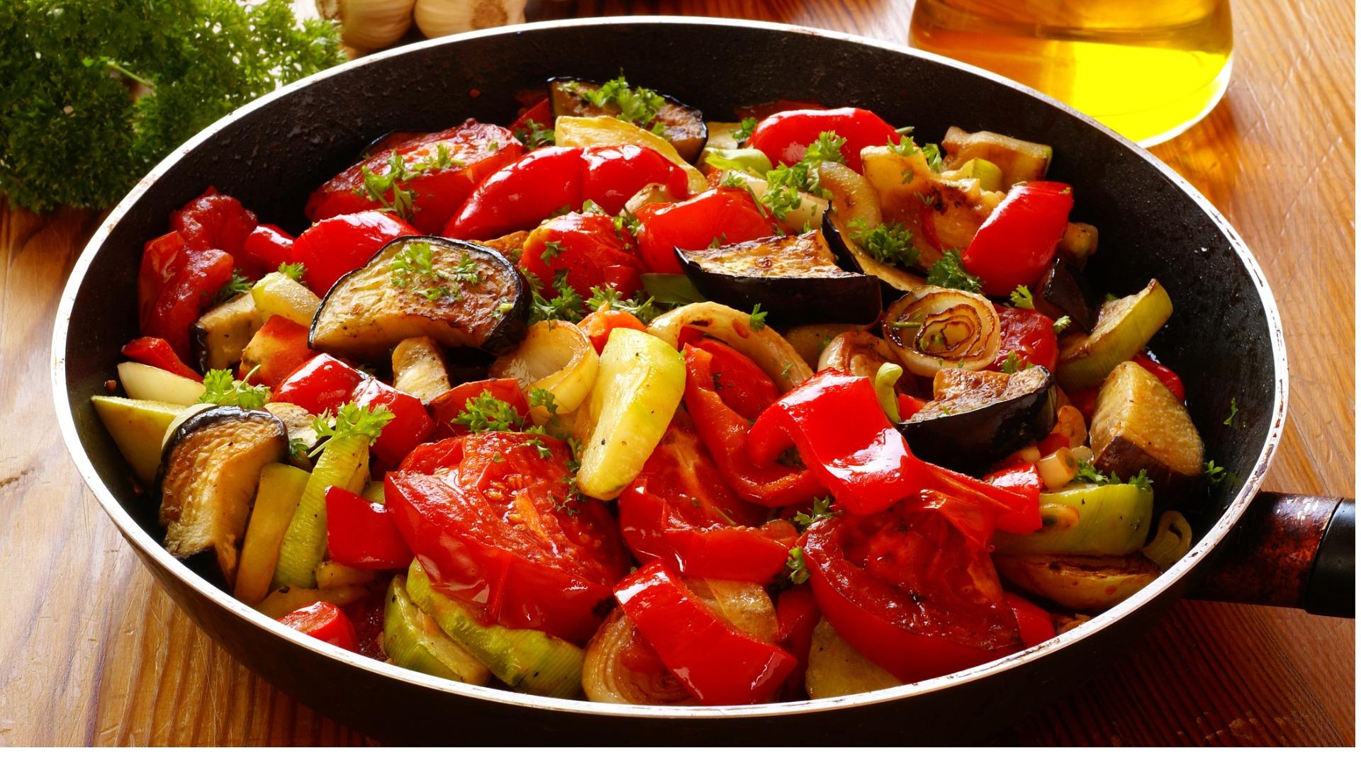 pan of ratatouille